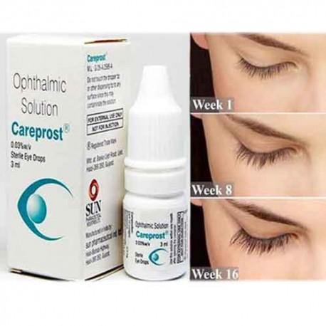 ケアプロスト点眼液0.03% W/V ビマトプロスト3ml/本|まつ毛増毛効果, 緑内障、高眼圧症治療