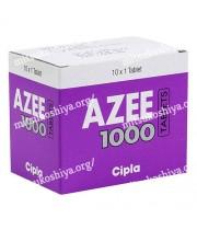 アジー AZEE(アジスロマイシン)1000mg 1箱10錠 シプラ社│性病など感染症の治療に使用されます。