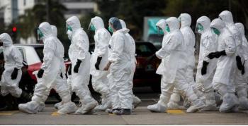 中国(武漢)にてSARS(重症急性呼吸器症候群)再発の疑い