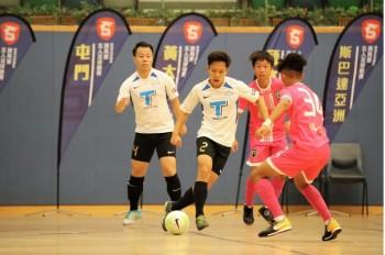 三越屋スポンサー:フットサルの試合開催ー「チーム名:国強(こっきょう)対FIFA香港フットサルリーグ一部」
