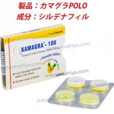 カマグラPOLO パイナップル(kamagra POLO)100mg  4錠/箱