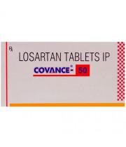 CONVANCE-50(コバンス) 10錠入-ロサルタン(Losartan tablets ip)|高血圧、心不全の予防