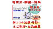 ニゾニド (Nizonide) 500mg 1シート6錠 Lupin社│寄生生物による食中毒などに使用されます。(箱なし)