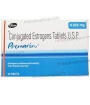 プレマリン(PREMARIN)0.625mg 1箱28錠 Pfizer社│女性ホルモン(卵胞ホルモン)補助製剤です。
