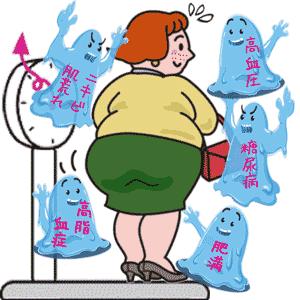 脂肪の蓄積が様々な疾患を発症させます。