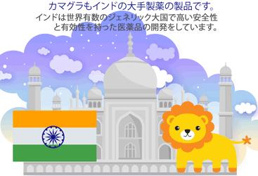 カマグラはインド製のジェネリック