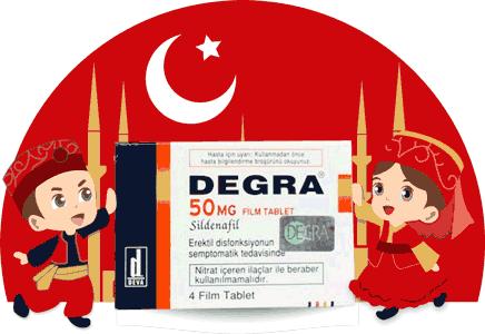 デグラ50mgもトルコ製だから安心